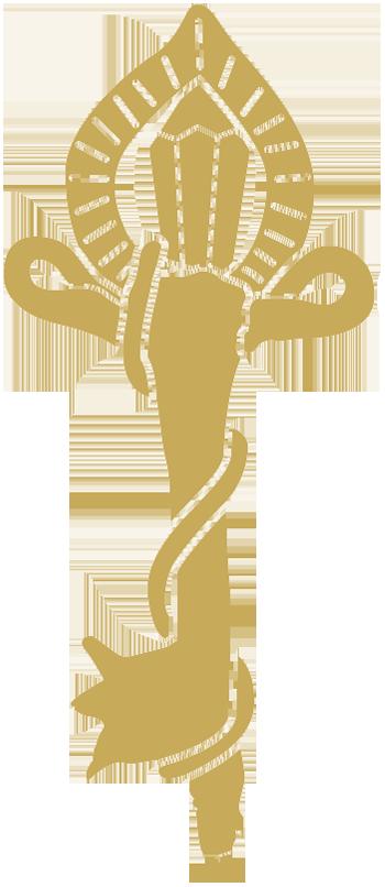 Llave dorada relleno dorado