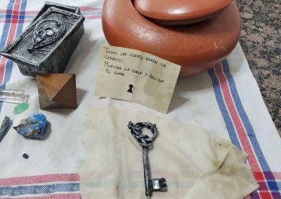 Contenidos de la urna Deva