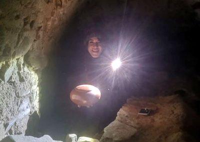Las ayalgueras de El Trasgu también aprenden espeleología